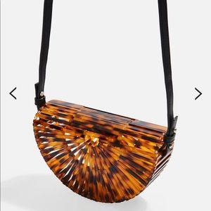 NWT Topshop Acrylic Crossbody Bag
